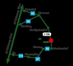Zufahrtsplan
